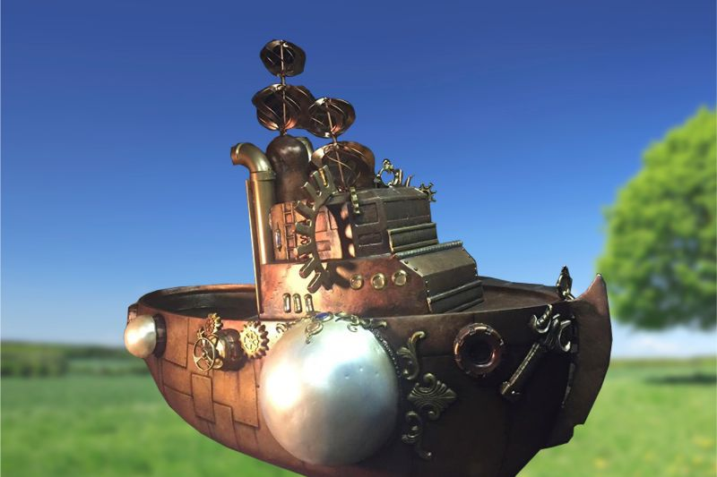 Steampunk Tugboat